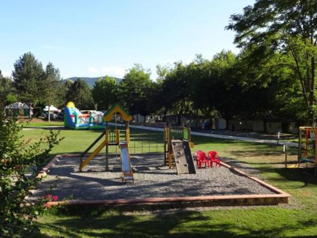 Camping d'Audinac Les Bains